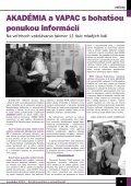 November 2004 - Ústredie práce, sociálnych vecí a rodiny - Page 5