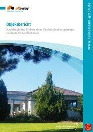 Objektbericht - Heinemann GmbH