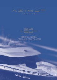 specifica tecnica technical specification - Navis Marine NV