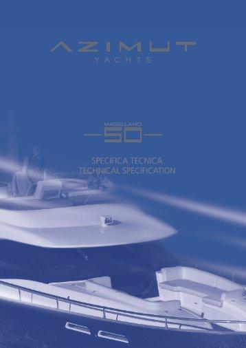 specifica tecnica technical specification - Navis Marine NV