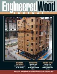 J O U R N A L - APA - The Engineered Wood Association
