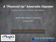 "A ""Powered Up"" Anaerobic Digester"