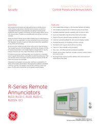 Data Sheet FX85005-0128 -- R-Series Remote Annunciators