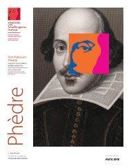 Phedre Cover.indd - Stratford Festival