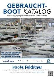 Gebraucht- boot katalog - Boote Feichtner