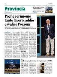 Dagli assegni alle riviste: un impero nato nel 1913 - L'Eco di Bergamo