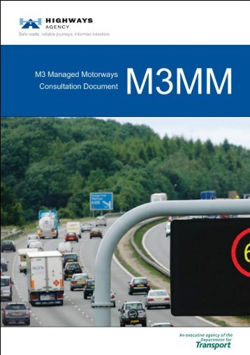 040313 M3MM FINAL Consultation Document - Highways Agency