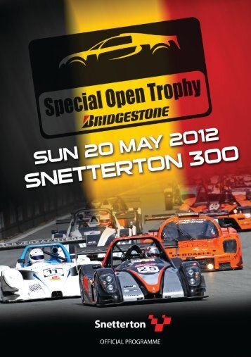 OFFICIAL PROGRAMME - MotorSport Vision Racing