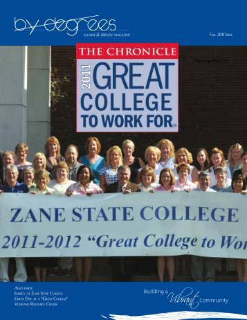By Degrees - Zane State College