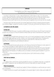 VORACE Une adaptation pour EWS Tsubaya par Axel ... - Cerbere.org