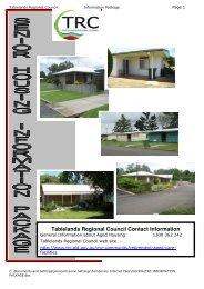 Tablelands Regional Council Contact Information