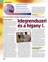 Idegrendszeri tünetek és a higany 1. - BioDent