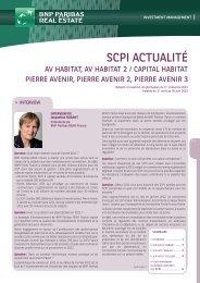 Bulletin trimestriel - Av Habitat - 1er trimestre 2012 - BNP Paribas ...
