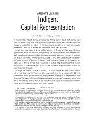 Indigent Capital Representation - Lawyers