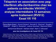 Télaprévir en association avec peg-interféron alfa-2a ... - Afef