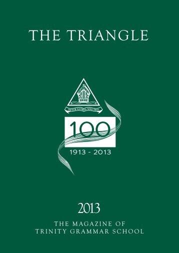 The Triangle 2012 - Trinity Grammar School