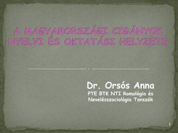 Prezentáció (.pdf) - Pécsi Tudományegyetem