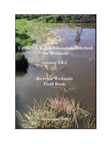 California Rapid Assessment Method for Wetlands version 5.0.2 ...