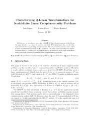 Characterizing Q-Linear Transformations for Semidefinite Linear ...