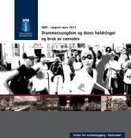 HKH rapport om hasj - Drammen kommune