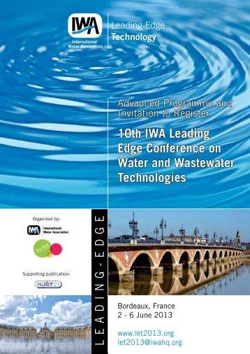 Advanced Program - IWA