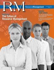 The Future of Resource Management - ASA(FM&C) - U.S. Army