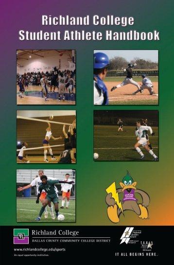 Athletic Handbook - Richland College