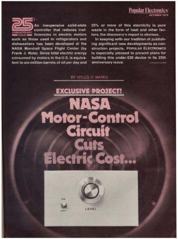 NASA Motor Control Circuit (1MB PDF)