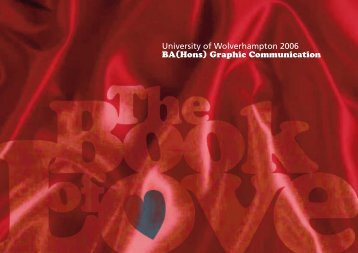 The Book of Love - University of Wolverhampton