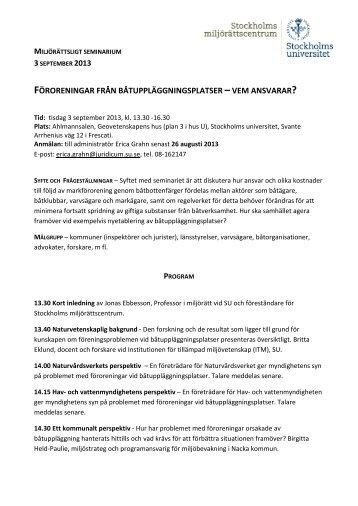 HÄR. - Juridicum - Stockholms universitet