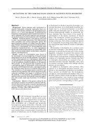 022797 Mutations in the Sarcoglycan Genes in Patients