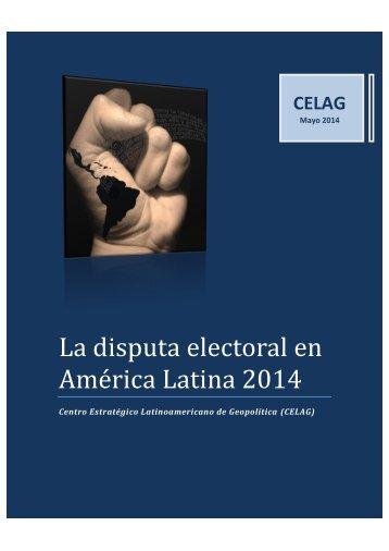 La-disputa-electoral-en-América-Latina-14-de-mayo-2014