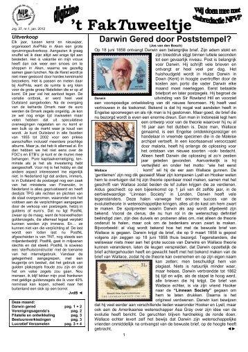 t FakTuweeltje - Eerste Kerkraadse Philatelisten Vereniging