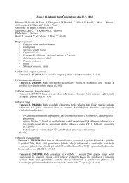 Zápis z 18. jednání Rady České televize dne 22. 9 ... - Česká televize