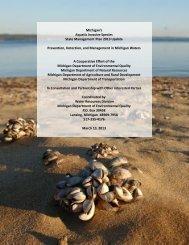Michigan's Aquatic Invasive Species State Management Plan 2013 ...