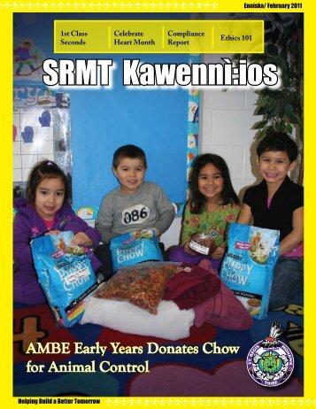 SRMT Kawennì:ios Newsletter - Enníska / February 2011