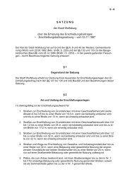 Satzung der Stadt Wolfsburg über die Erhebung des