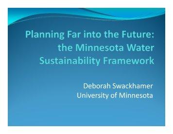 Task - Water Resources Center - University of Minnesota