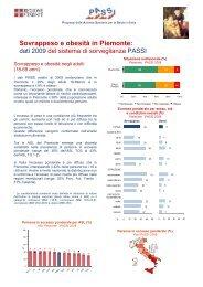 Sovrappeso e obesità in Piemonte: - EpiCentro