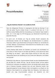 """""""Tag der Schönen Künste"""" im Landkreis Fürth - CSU"""