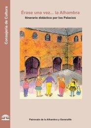 Cuaderno Érase una vez la Alhambra - Alhambra y Generalife