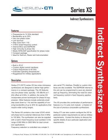 XS Datasheet.indd - Herley