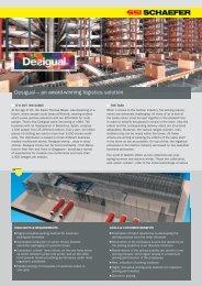 Desigual – an award-winning logistics solution - SSI Schaefer