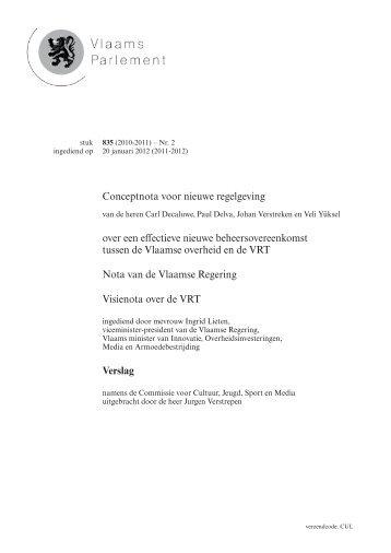 Tekst - Vlaams Parlement