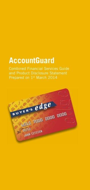 AccountGuard - GE Money