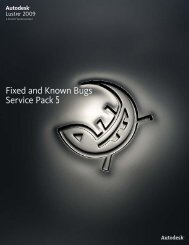 Fixed and Known Bugs Service Pack 5 - Autodesk