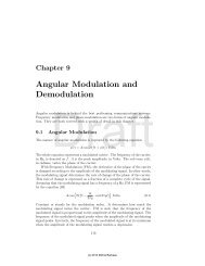 Angular Modulation and Demodulation