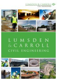 Lumsden & Carroll Civil Engineering Brochure