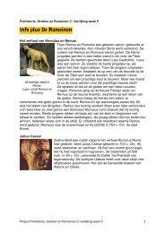 Info plus De Romeinen - Alles-in-1