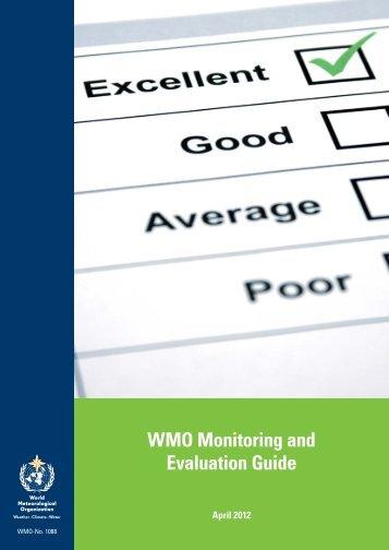 WMO Monitoring and Evaluation Guide - E-Library - WMO